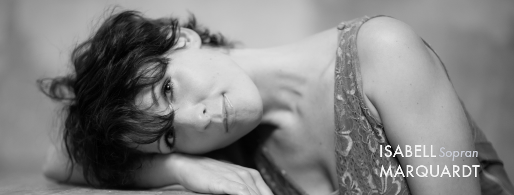 Isabell Marquardt . Sopran . Gesangstudio
